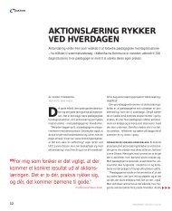 AKTIONSLÆRING RYKKER VED HVERDAGEN - Bupl