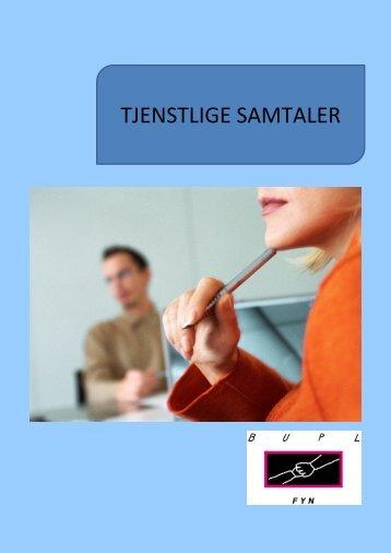 TJENSTLIGE SAMTALER - Bupl