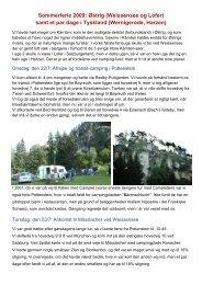 Østrig 2009 - Campisternes Rejseportal