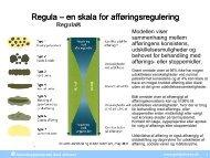 Regula – en skala for afføringsregulering