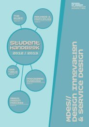 Student Handbook | Your 2012/13 Student Guide - Glasgow School ...
