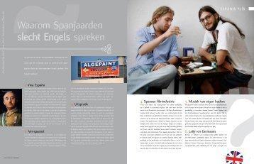 Spanjaarden en het Engels - Hieke Voorberg