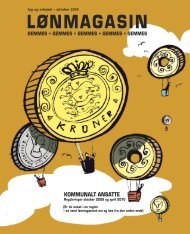 Lønmagasin 2009: Kommunalt ansatte - FOA