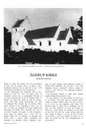 ÅGERUP KIRKE - Danmarks Kirker - Nationalmuseet