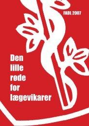 Den lille røde for lægevikarer - fadl.dk