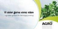 Vi deler gerne vores viden - Grønt Center