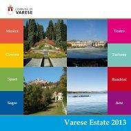 Varese Estate 2013 - Comune di Varese