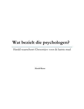 Slotpraatje - Sociale Wetenschappen - Universiteit Utrecht