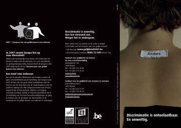 folders - Centrum voor gelijkheid van kansen en voor ...