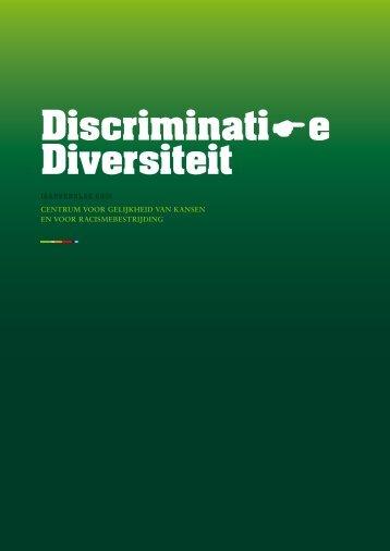 Discriminatie Diversiteit - Centrum voor gelijkheid van kansen en ...