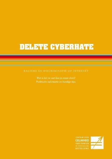 Brochure Cyberhate NL - Centrum voor gelijkheid van kansen en ...