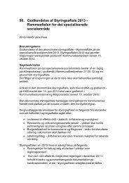 Godkendelse af Styringsaftale 2013 - Jammerbugt Kommune