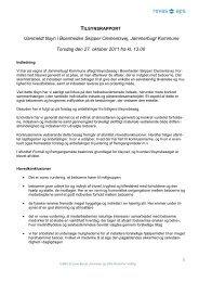 Revs tilsynsrapport Skipper Clementsvej 27.10.11 - Jammerbugt ...