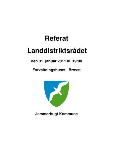 referat af mødet - Jammerbugt Kommune