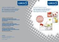 Weitere Informationen und Rezepte zum Lurch Green ... - KochForm