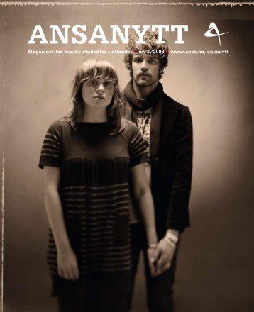ANSAnytt nr. 3/2008
