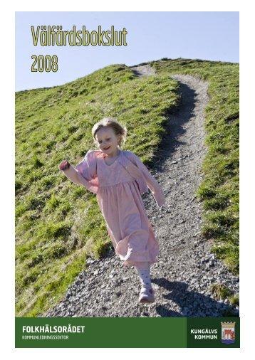 Välfärdsbokslut 2008 - Kungälv
