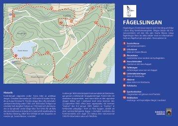 Fågelslingan, karta (PDF-fil, 410 kB)