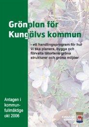 Läs hela grönplanen - Kungälv