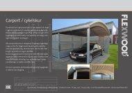 Carport / cykelskur - Flexwood A/S