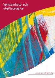 Verksamhets- och utgiftsprognos - Tema asyl & integration