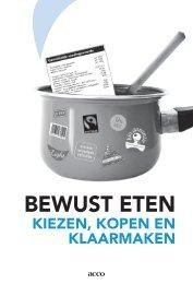 Bewust eten - Vlaams Agentschap Zorg en Gezondheid