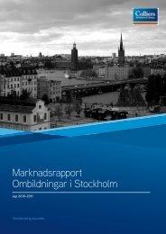 Marknadsrapport Ombildningar i Stockholm - Fastighetsnytt