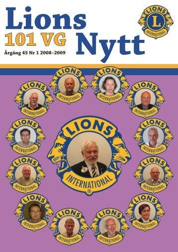 LionsNytt nr 1