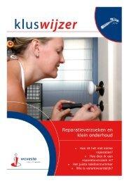 Reparaties en klein onderhoud - Wovesto