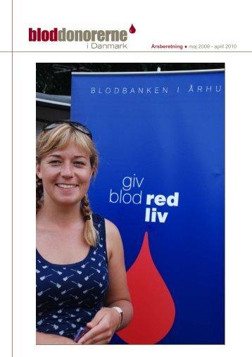 Årsberetning 2009-2010.pub - Bloddonorerne i Danmark