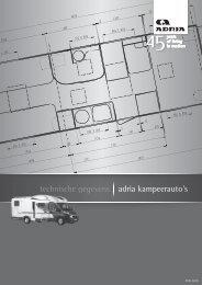 technische gegevens adria kampeerauto's - Mijts caravans
