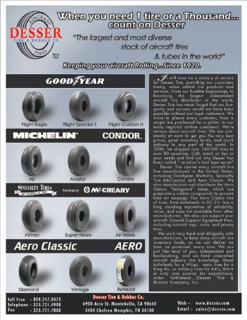 Online Catalog - Desser Tire and Rubber Co.