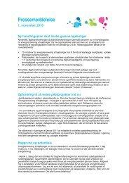 Pressemeddelelse: Ny handlingsplan skal skabe grønne lejeboliger