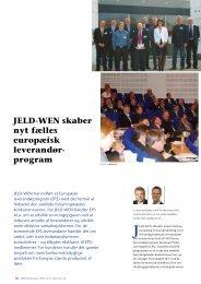 JELD-WEN har indført Europæisk Leverandørprogram - 4improve a/s