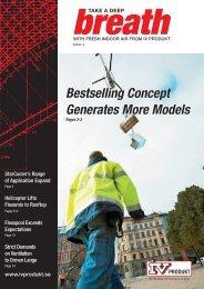 Bestselling Concept Generates More Models - IV Produkt