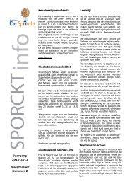 Jaargang 2011-2012 8 september Nummer 2 ... - Xpect Primair
