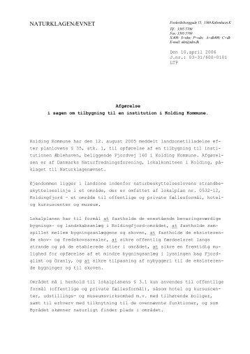 03-31/600-0101 - Naturklagenævnet