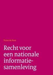 Recht voor een nationale informatie samenleving - Forum ...