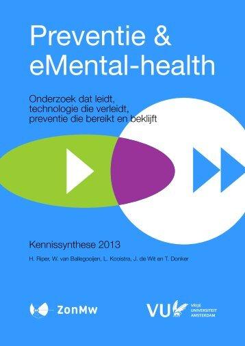Preventie en eMental-health - Heleen Riper