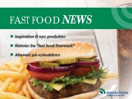 FAST FOOD NEWS - DENCON FOODS