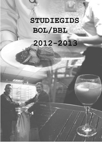 Studiegids 2012-2013 BBL en Bol - Leermeesters Noord-Nederland