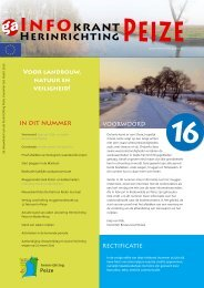 Infokrant maart 2010 - herinrichting Peize