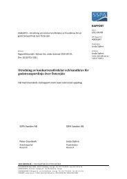 Utredning av konkurrensfördelar och kundkrav för godstransportlinje ...