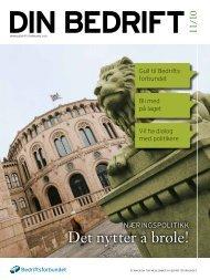 11-1 Din Bedrift.pdf - Bedriftsforbundet