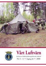 Vårt luftvärn nr 3-4/2008 - Luftvärnsförbundet