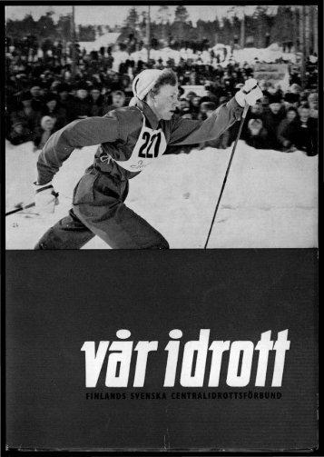 Finlands Svenska Centralidrottsförbund