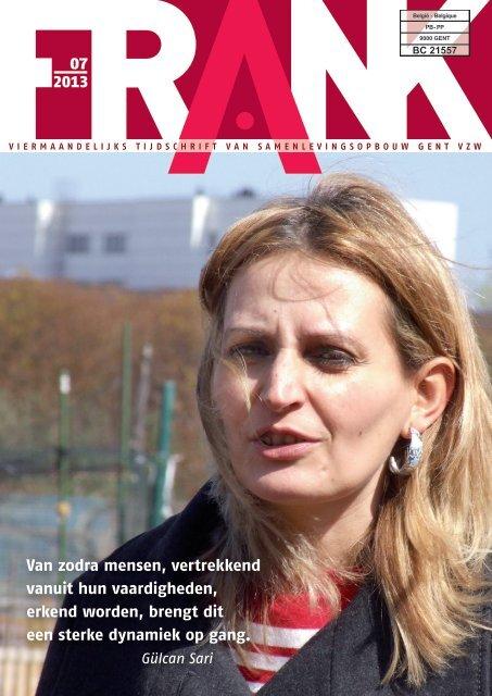 FRANK n° 7 - Samenlevingsopbouw Gent