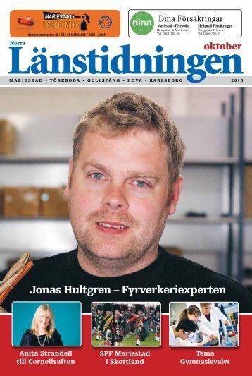 Jonas Hultgren – Fyrverkeriexperten - Länstidningen