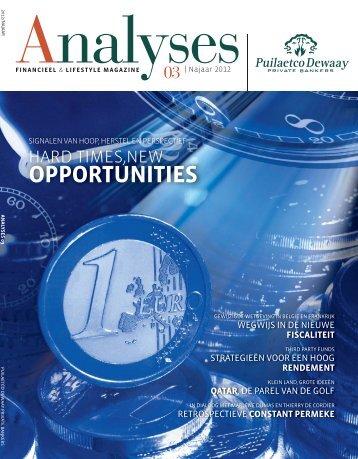 Financieel & Lifestyle magazine - Puilaetco Dewaay