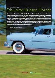 Fabuleuze Hudson Hornet - Heideveld Classics